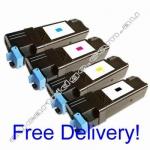 A Set Compatible Dell 2150cn 2150cdn 2155cn 2155cdn Toner